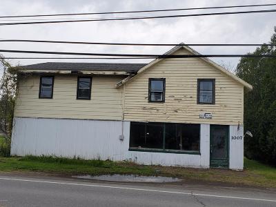Newfoundland PA Single Family Home For Sale: $49,000