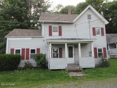 Honesdale Single Family Home For Sale: 240 Erie St