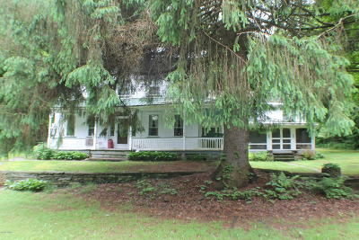 Equinunk Single Family Home For Sale: 260 Dillontown Rd