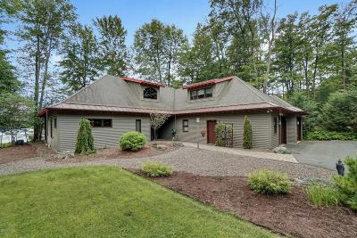 Canadensis Single Family Home For Sale: 162 Lake In The Clouds Rd