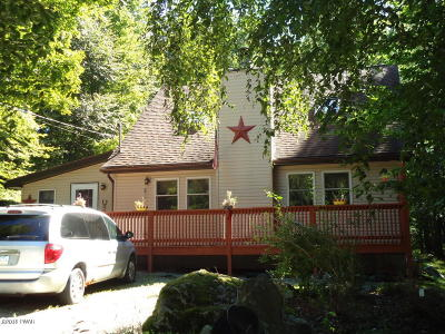 Lake Ariel Single Family Home For Sale: 1909 Lakeview Drive East