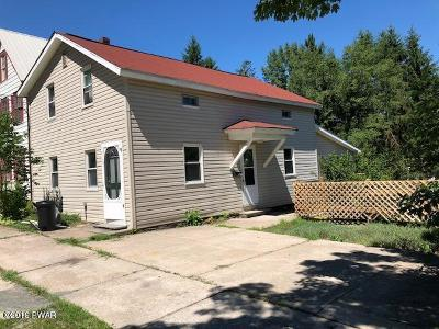 Honesdale Single Family Home For Sale: 1407 Westside Ave