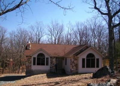 Lords Valley PA Single Family Home For Sale: $160,000