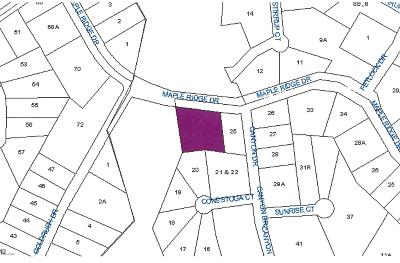 Lords Valley Residential Lots & Land For Sale: 502 Mapleridge Drive
