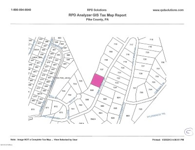 Dingmans Ferry Residential Lots & Land For Sale: Lot 706 Lake Forest Dr