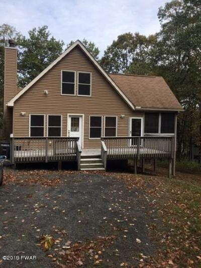 Lords Valley PA Single Family Home For Sale: $158,000