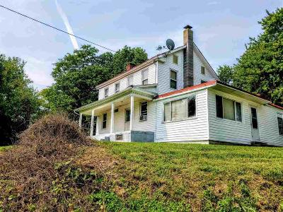 Single Family Home For Sale: 1951 Frederick Pike