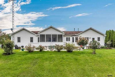 Gettysburg PA Single Family Home For Sale: $310,000
