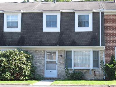 Gettysburg PA Condo/Townhouse For Sale: $109,500