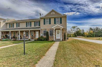 Gettysburg PA Condo/Townhouse For Sale: $139,900