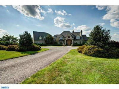 Upper Makefield Single Family Home ACTIVE: 410 W Brownsburg Road