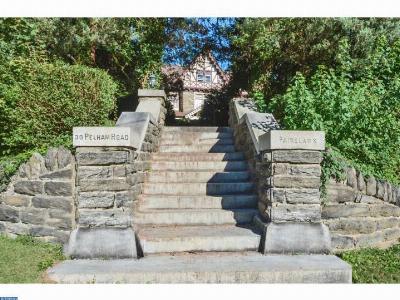 Philadelphia Single Family Home ACTIVE: 30 Pelham Road