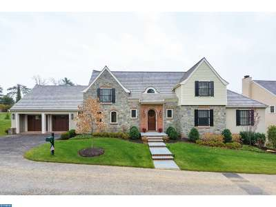 Villanova Single Family Home ACTIVE: 505 Thistlegreen Court