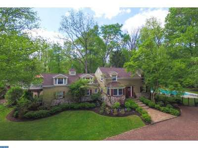 PA-Bucks County Single Family Home ACTIVE: 460 W Brownsburg Road