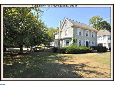 Browns Mills Single Family Home ACTIVE: 117 Juliustown Road