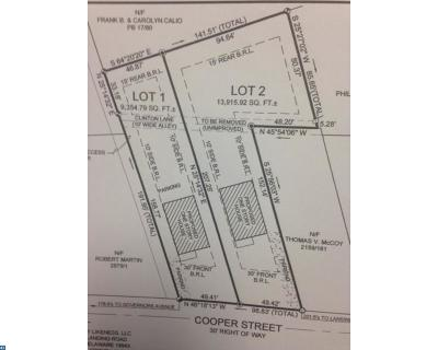 Laurel Residential Lots & Land ACTIVE: 539 Cooper Street