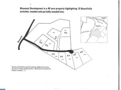West Chester Residential Lots & Land ACTIVE: Lot 2 Wawaset Farm Lane