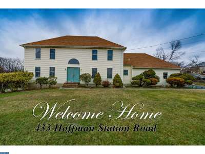 Single Family Home ACTIVE: 433 Hoffman Station Road
