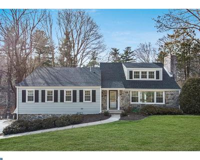 Bryn Mawr Single Family Home ACTIVE: 932 Wootton Road