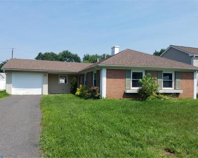 Willingboro Single Family Home ACTIVE: 33 Midvale Lane