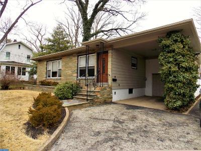 Merchantville Single Family Home ACTIVE: 107 Oak Terrace