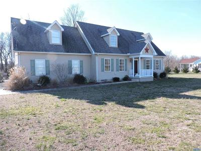 DE-Kent County Single Family Home ACTIVE: 1001 Sewell Branch Road