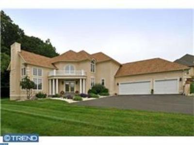 Solebury Single Family Home ACTIVE: 309 Lyon Circle