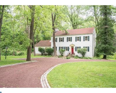 Newtown Square Single Family Home ACTIVE: 1 Earles Lane