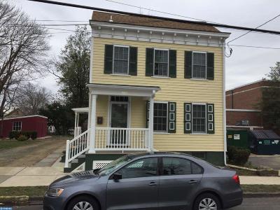 Bordentown Single Family Home ACTIVE: 106 Crosswicks Street