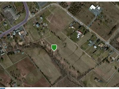 PA-Bucks County Residential Lots & Land ACTIVE: Marienstein Road