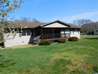 Laurel Single Family Home ACTIVE: 12375 County Seat Highway