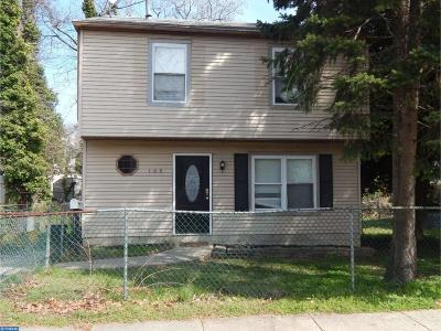 Woodlynne Single Family Home ACTIVE: 168 Elm Avenue