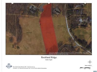 Rockland Residential Lots & Land ACTIVE: 4 Rockland Ridge Road
