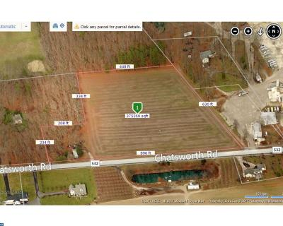 Tabernacle Twp NJ Farm ACTIVE: $250,000