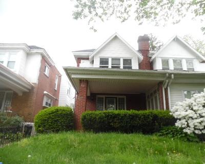 Philadelphia Single Family Home ACTIVE: 1117 E Rittenhouse Street