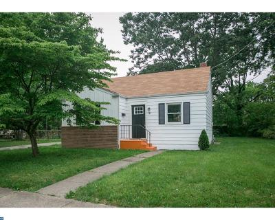 Lindenwold Single Family Home ACTIVE: 143 Walnut Avenue