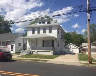 Glassboro Single Family Home ACTIVE: 321 W High Street