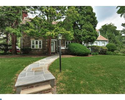 Bala Cynwyd Single Family Home ACTIVE: 19 W Levering Mill Road