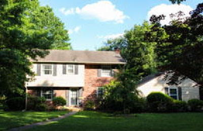 Moorestown Single Family Home ACTIVE: 208 Hedgeman Road