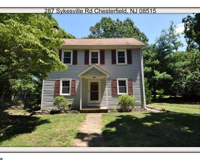 Chesterfield Single Family Home ACTIVE: 287 Sykesville Road