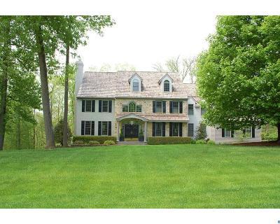 Chadds Ford PA Single Family Home ACTIVE: $1,150,000