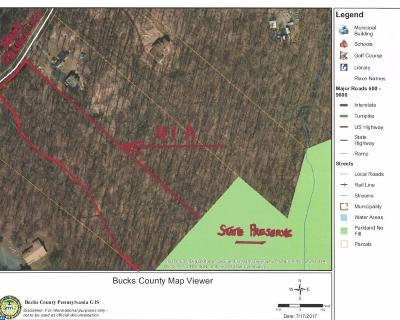 PA-Bucks County Residential Lots & Land ACTIVE: Lot33-3 Stony Garden Road
