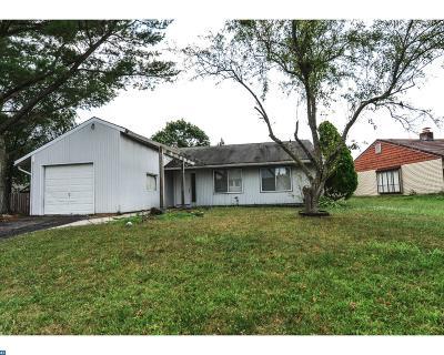 NJ-Camden County Single Family Home ACTIVE: 15 Peoria Lane