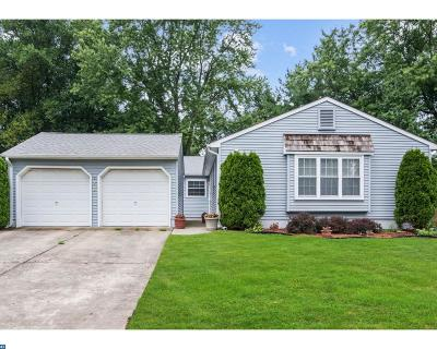 Mount Laurel Single Family Home ACTIVE: 143 Cobblestone Drive