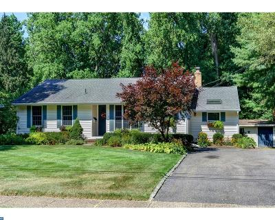 Moorestown Single Family Home ACTIVE: 10 S Shirley Avenue