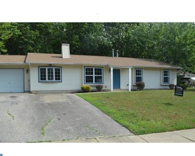 Gloucester Twp, Sicklerville Single Family Home ACTIVE: 25 Saint Moritz Drive