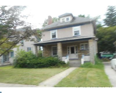 Moorestown Single Family Home ACTIVE: 334 Newbold Avenue