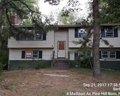 Pine Hill Single Family Home ACTIVE: 4 Madison Avenue