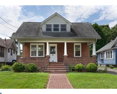 Oaklyn Single Family Home ACTIVE: 86 Manor Avenue