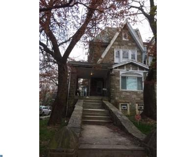 Philadelphia Single Family Home ACTIVE: 5600 Woodbine Avenue